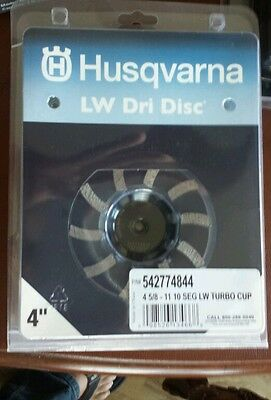 Husqvarna 4 Turbo Diamond Grinding Cup Wheel 542774844