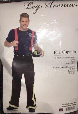 Fire Captain Adult Costume - - Fire Captain Kostüm