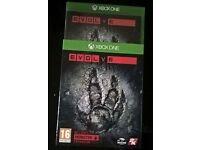 Xbox one game: EVOLVE.