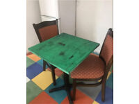 2 seater kitchen table and chairs