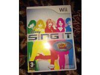 Wii Disney Sing It