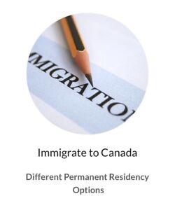 Study permits, Work permits, Visa, eTA and Permanent Residency
