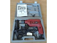 Power drill boxed - ( only used 2 or 3 times )