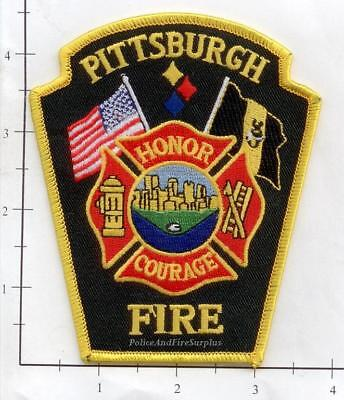 Pennsylvania - Pittsburgh PA Fire Dept Fire Patch v4