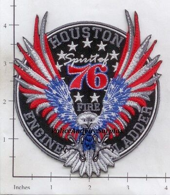 Texas - Houston Station 76 TX  Fire Dept Patch