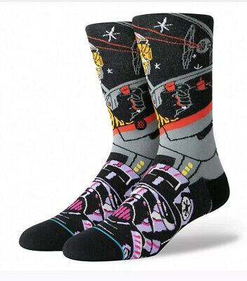 Stance Star Wars Warped Pilot Men's Socks Sz MEDIUM (6-8.5) NWT