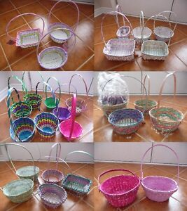 Brand New Easter Baskets - Lots To Choose From