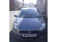 2008 fiat PUNTO dynamic 1.4 petrol manual 5 door