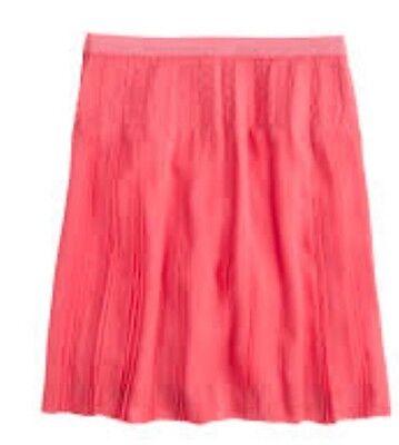 J. Crew Stifled Down Pleated Skirt. Size 2, 4, 4P. $110