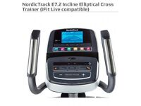 NordicTrack E7.2 Incline Elliptical Cross Trainer NEW!!!!
