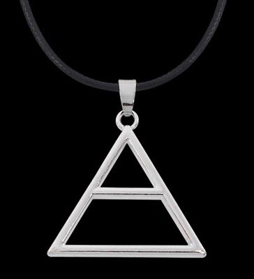 *30 seconds to mars* 3STM Letto BAND Triad necklace