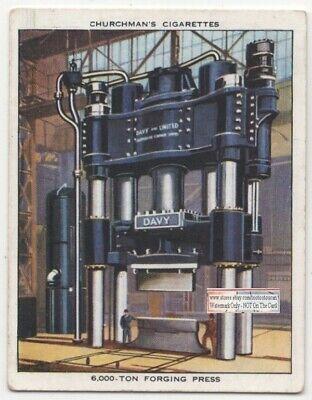 6000 Ton Metal Forging Stamping Hydraulic Press C80 Yo Trade Ad Card