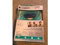 Boxed/new webcam Logitech C270 for sale