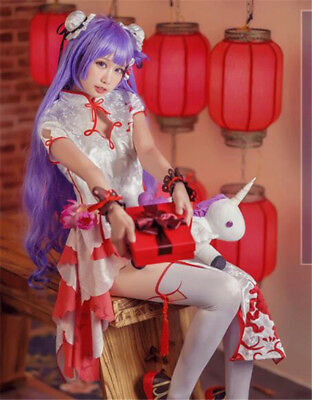 Azur Lane unicorn costume Vampire cheongsam Chinese Dress cosplay - Chinese Vampire Costume