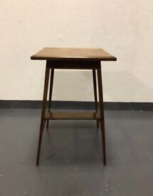 Antique Mahogany 2 Tier Plant Stand Jardiniere Table