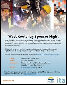 Apprenticeship information meeting for potential Sponsors
