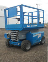 Genie GS 3268RT Scissor Lift