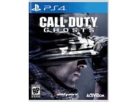 Call of Duty Ghosts PS4 swap for Assassins Creed Syndicate