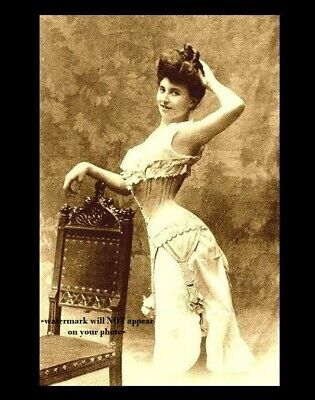 1880s Sexy Saloon Girl PHOTO Old West Dance Hall Wild Beer Gambling Joint Lady