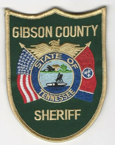 Gibson County Sheriff State Tennessee TN Colorful