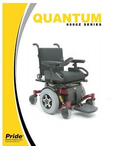 Pride Mobility Quantum 6000Z Electric Wheelchair (BRAND NEW)