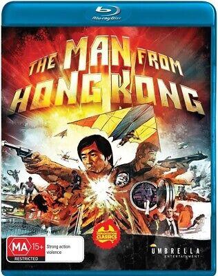 The Man from Hong Kong (1975) aka Dragon Flies   New   Sealed   Blu-ray
