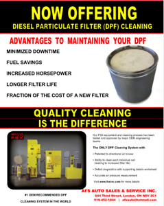 DPF CLEANING SERVICE