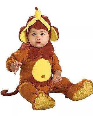 Infant Newborn Monkey See Monkey Do Romper Costume EUC