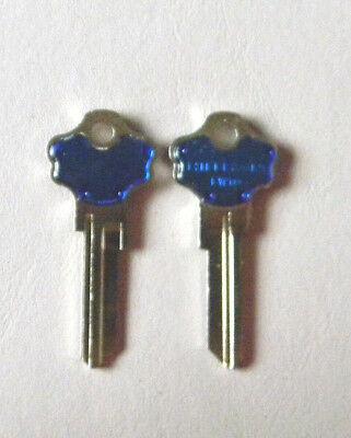 Kwikset Titan Kw10 Key Blanks2 Blue By Hillman