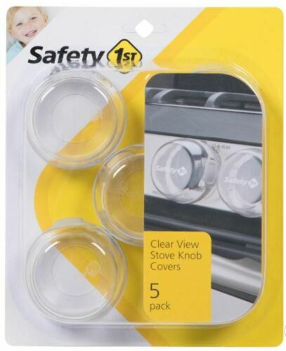 New Safety 1st Clear View Stove Knob Covers - Pack of 5