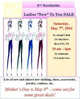 2nd Annual Ladies NEW to YOU Sale