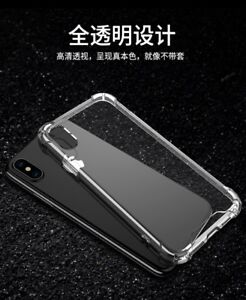 Brand New Clear iPhone X Case + Glass Screen Protector