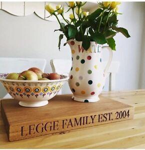 Oak Chopping Board - Personalised-Engraved 1 Side