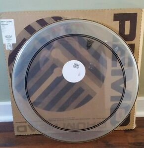 22'' Remo Power Stroke bass drum head. Used for 1 song
