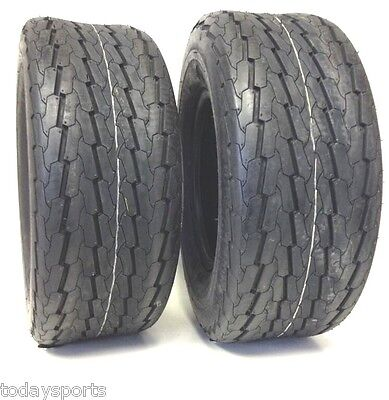 2 New 18.5X8.50-8 Trailer Tire 6 Ply  18.5x 8.50-8 Trailer Tire HiSpeed Two Tire