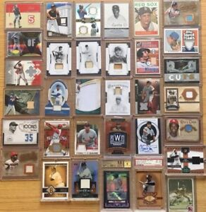 1,000+ AUTOGRAPH BASEBALL CARDS: auto/jersey/relic -GUARANTEED HIT!