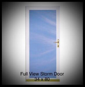 Looking for a Full View Storm Door