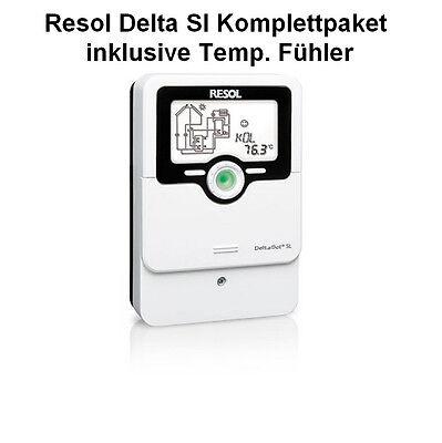 Resol Delta Sol SL Solarregler Solarsteuerung Solar Regler Temperatur Fühler