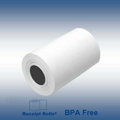 Credit Card 2 14 X 50 Bpa Free Thermal Paper Rolls Nurit 8000 - 50 Rollscase