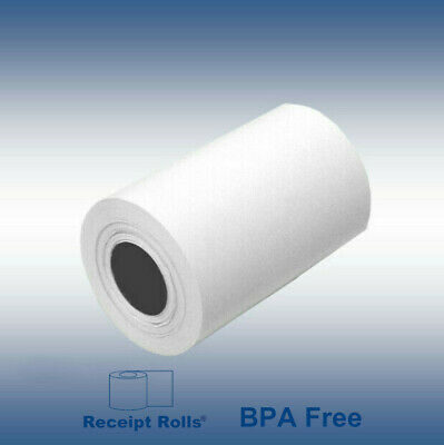 2-14 X 50 Bpa Free Thermal Credit Card Receipt Paper 500 Rolls 10 Cases
