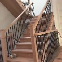 New staircase starts from $299,including 13 steps and stringer