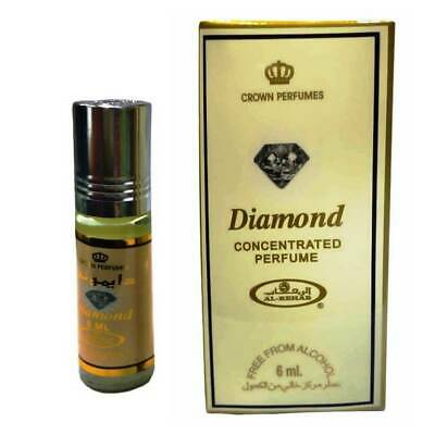 Diamond 6ml by Al Rehab Best Seller Perfume/Attar/Ittar / oil BUY 3 GET ONE