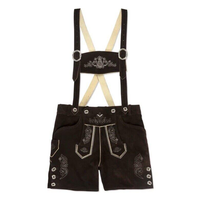 Chubbies The Lederhosen Overalls Leather Shorts Suspenders Oktoberfest Men