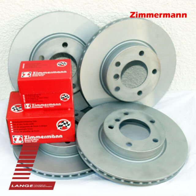 Zimmermann KIT Bremsen Beläge Jaguar S-Type XF XJ XK 326mm VA 326mm HA KIT