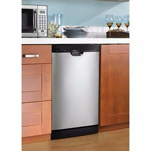 "BRAND NEW 18"" INCH STAINLESS STEEL DISHWASHER--WHAT A DEAL!!"