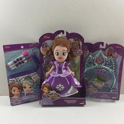 NEW Disney Princess Sofia The First Doll Crown Activity Purse - Princess Sofia Crown