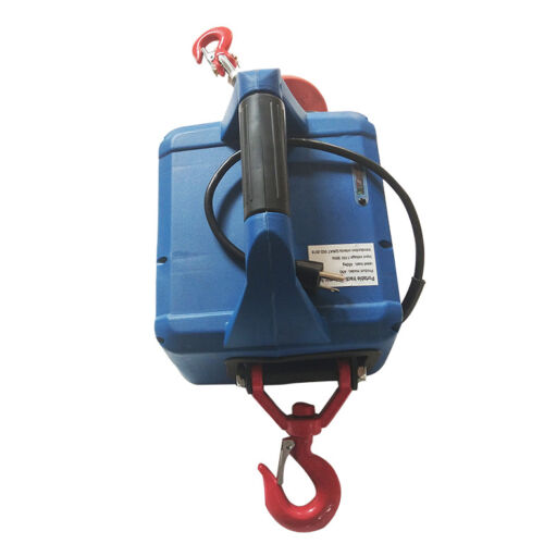 110V Portable Electric Winch With Wireless Remote Control 992.08LB*22.96FT