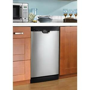 """BRAND NEW 18"""" INCH STAINLESS STEEL DISHWASHER-WOW!!"""