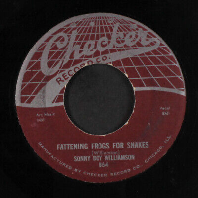 SONNY BOY WILLIAMSON: Fattening Frogs For Snakes / I Don't Know 45 Blues &