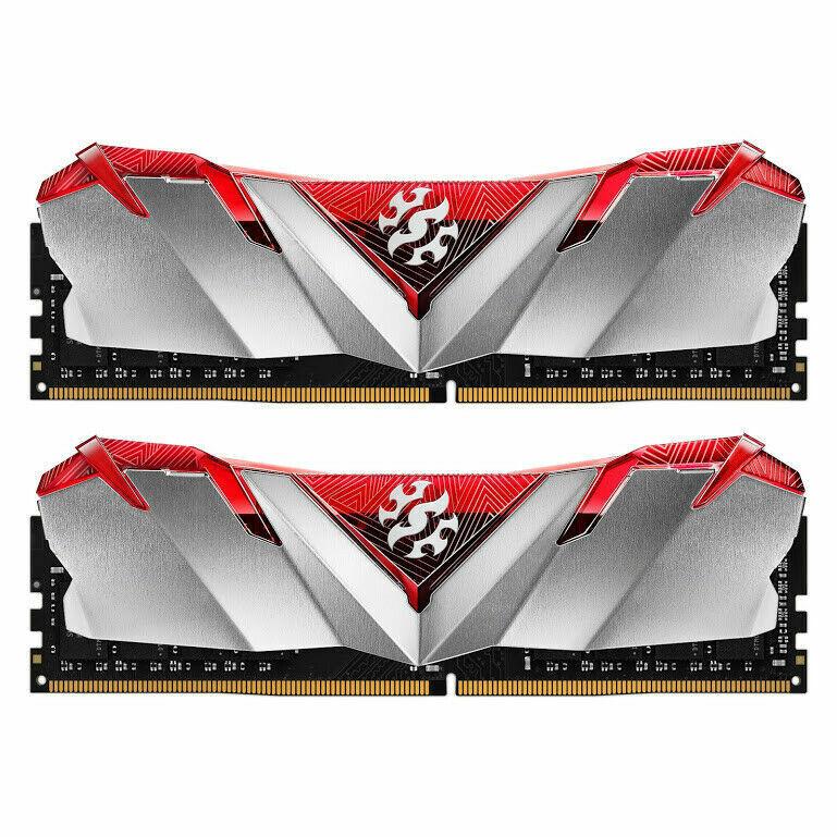 XPG GAMMIX D30 Gaming Memory: 16GB (2x8GB) DDR4 3000MHz CL16 Red